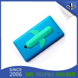 Soporte a estrenar con estilo del teléfono celular del PVC de la calidad realizable
