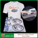 Scambi di calore caldi del plastisol di vendita di Qingyi per la maglietta