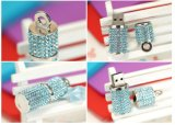 Estilo de batom Jewellry Diamond Gift Memória flash USB