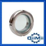 Visor de Vidro do aço inoxidável sanitárias Componente do Tanque