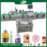Автоматическая машина для прикрепления этикеток стикера для косметической чонсервной банкы опарника бутылки