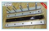 Aluminium/Edelstahl, der das heiße Stempeln mit Puder-Beschichtung locht