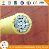 Fil et câble duplex du fournisseur 600V Xhhw 4AWG de la Chine Hebei avec l'UL indiquée