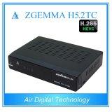 2 DVB T2/C + H. 265 KodiプレーヤーZgemma H5.2tcとのDVB S2