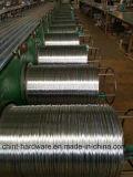 Провод оцинкованной стали стального провода провода утюга гальванизированный проводом стальной