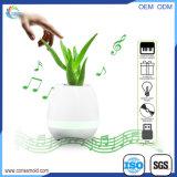 Escudo plástico do Flowerpot da música recarregável do altofalante de Bluetooth