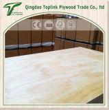 Madera contrachapada de madera de la chapa del pino/madera contrachapada comercial usada para la cabina de cocina