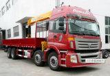 트럭에 Auman 8X4 기중기 가격 12 톤 기중기 트럭