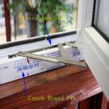 중국 공장 판매 UPVC 별장 집을%s 장님을%s 가진 이중 유리를 끼우는 유리제 여닫이 창 Windows