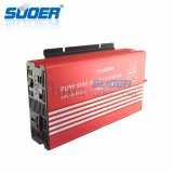 Инвертор частоты волны синуса электрической системы 24V 220V 1500W Suoer солнечный чисто (FPC-H1500B)