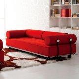Mobília de sala de estar de alta qualidade Sofás de tecido Rattan de lazer (F807)