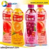 600 мл HDPE бачок 10000 бутылок фруктового сока заполнения машины
