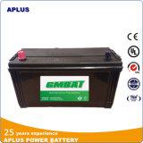 60026 12V de Batterijen van de 100ahVrachtwagen met de Vrije Eigenschap van het Onderhoud