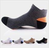 Элита хлопка Customed верхнего качества людей Socks лодыжка Anti-Slip Scoks
