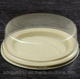 Коробка малого светлого волдыря cheesecake упаковывая