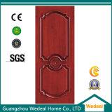 赤いカシの家のための固体木の高品質のドア