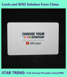 Cartão do presente do PVC para o centro de compra com listra magnética (ISO 7811)