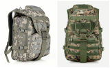 Sac à dos militaire de combat d'armée de couleurs, sac campant en nylon extérieur de course