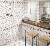 6D-Inkjet glasig-glänzende glatte keramische Wand-Innenfliese für Badezimmer 300X450mm