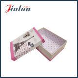 Regalos de cumpleaños impresos de papel de encargo 4c pila de discos los rectángulos de regalo de la cartulina