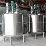ステンレス鋼真空および圧力混合タンク