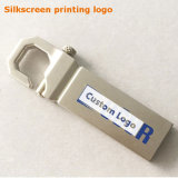Custom 8/16/32/64 / 128GB Gold Metal Hook USB3.0 Pendrive (YT-3258-03)
