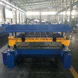Stahldach-Umhüllung-Rolle, welche die Maschinen-/Blatt-Rolle bildet die Maschinen-/Metalldach-Rolle bildet Maschine bildet