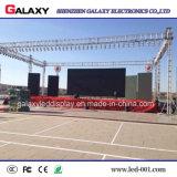 Fijos flexibles del mejor precio instalan la publicidad de la pantalla de visualización video de alquiler del panel del LED para el uso de la etapa