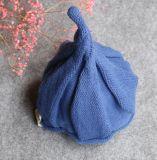 Chapéu feito malha do bebê bonito do inverno
