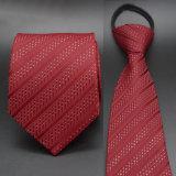 Jacquard Maroon Neckties 5cm, gravata de gravata em seda (A019)