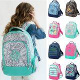 Sac à dos personnalisé Bookbag de gosse de sac d'emballage d'élève d'école de mode de fleur