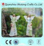 De nieuwe Decoratie van het Huis van de Standbeelden van de Engel van de Liefde van de Moeder van de Beeldjes van de Engel van de Hars van de Aankomst