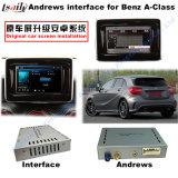 Auto-videoschnittstelle für MERCEDES-BENZ Ntg 5.0 eine Bc E Glc Gle Gla Kategorie, androide eine Navigations-Rückseite und ein Panorama 360 wahlweise freigestellt