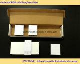 Cartão branco do PVC da planície do tamanho do cartão de crédito apropriado para o Inkjet