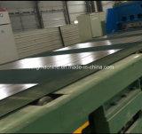 長さラインへの鋼板打抜き機か切口