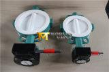 Тип клапан-бабочка вафли PTFE польностью выровнянный с ISO Wras Ce одобрил (CBF04-TA01)