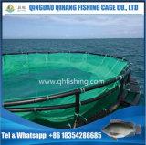 Gaiolas da rede dos peixes da cultura aquática para o uso da piscicultura