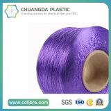 Filé 100% pourpré du textile 900d FDY pp pour la torsion câblée