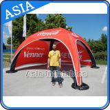 Einbrennen und förderndes aufblasbares X-Gloo Zelt für kampierenden Boden