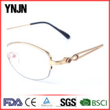 Ynjn Gold Metal Frame Personality Ladies Eyewear
