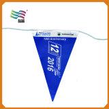 Таможня промотирования напечатала флаги покрашенные PVC Bunting для партии