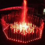 カスタマイズされたロータス音楽水噴水のステンレス鋼の噴水