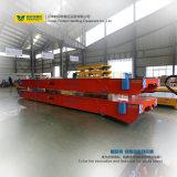 Carrello di trasferimento motorizzato stabilimento chimico di 50 tonnellate con il piatto d'acciaio
