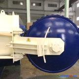 1500X3000mm ASME verklaarde Directe Stoom Verwarmend RubberAutoclaaf Vulcanizating