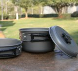 De hete Waren van Cook van het Aluminium van de Verkoop Openlucht & Kokende Pot voor 1-2person