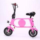 bicicleta elétrica da bateria de lítio 36V 10 polegadas que dobram a bicicleta de E