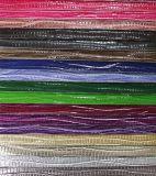 Couro durável clássico do saco do PVC do plutônio da imitação (9530)