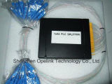PLC van de Plastic Doos van de Telecommunicatie van Gpon 1X64 Splitser voor Pon/FTTH/CATV