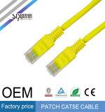 Sipu precio de fábrica UTP Cat 5e Patch Cable de red para Ethernet