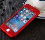 Quanlity élevé plein cas de téléphone mobile de protection de 360 degrés pour iPhone7
